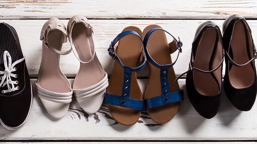Resvänliga skor på nätet