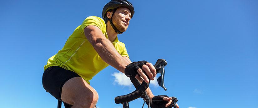 Cykelhjälmar och deras beståndsdelar